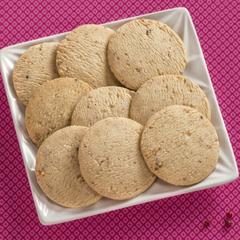 Pink Peppercorn Cookies on a plate