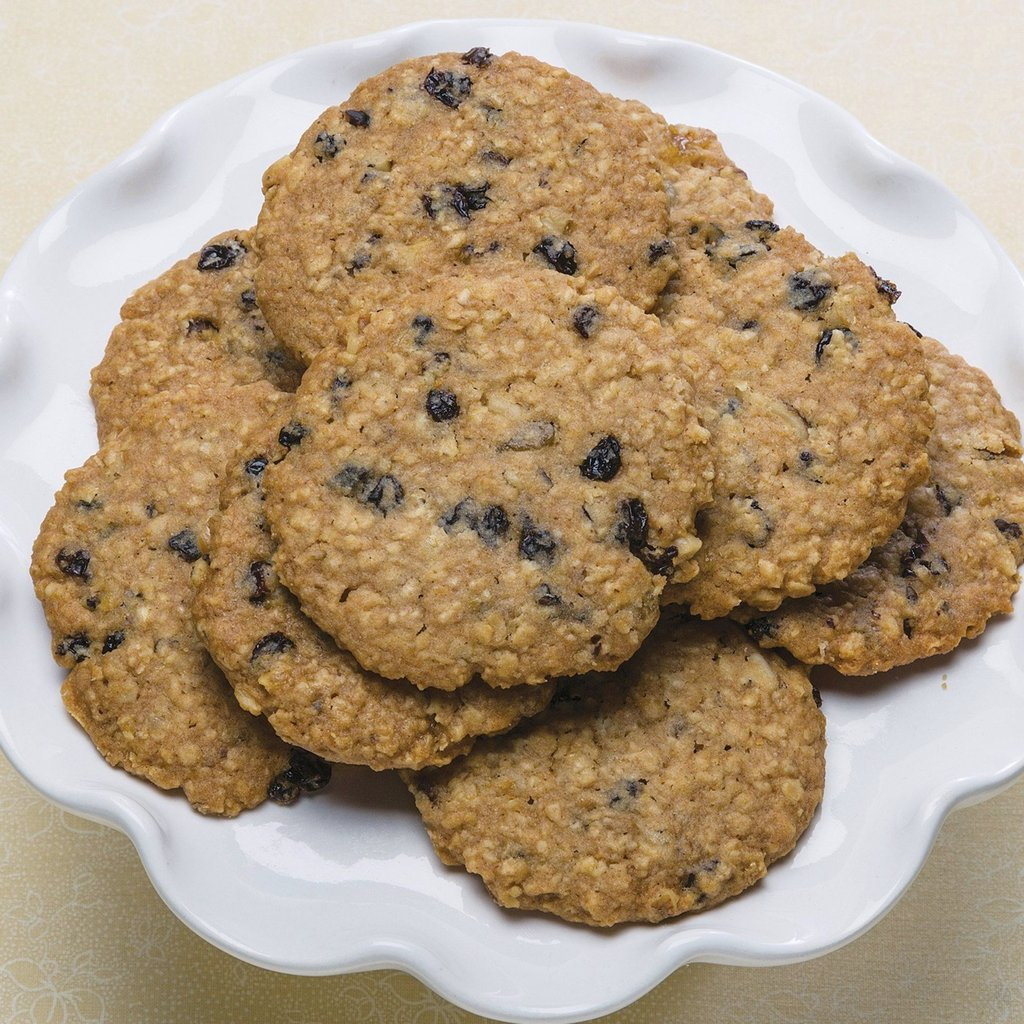 No Sugar Added Oatmeal Cookies